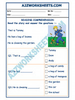English English Comprehension - 07