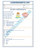English English Comprehension - 10