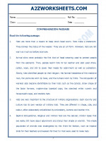English English Comprehension Passage-19