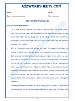 English English Comprehension Passage-22
