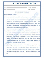English English Comprehension Passage-24