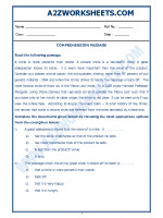 English English Comprehension Passage-25