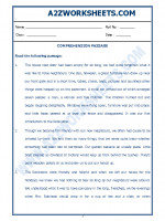 English English Comprehension Passage-33