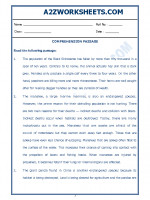English English Comprehension Passage-37