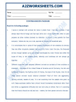 English English Comprehension Passage-38