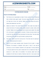 English English Comprehension Passage-50