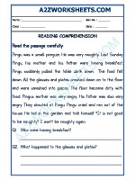 English English Comprehension - 18