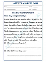 English English Comprehension - 21