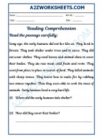 English English Comprehension - 22