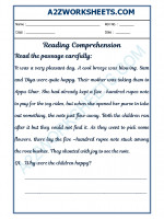 English English Comprehension - 23