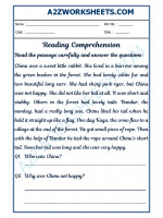 English English Comprehension - 25