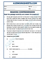 English English Comprehension - 12