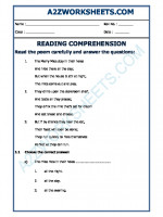 English English Comprehension - 14