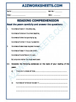 English English Comprehension - 16