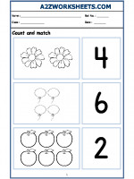 Maths Nursery - Count and Match-02