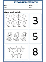Maths Nursery - Count and Match-03
