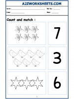 Maths Nursery - Count and Match-04