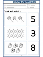 Maths Nursery - Count and Match-05