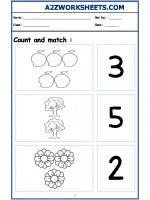 Maths Nursery - Count and Match-06