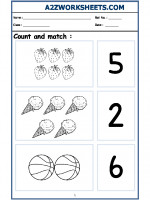 Maths Nursery - Count and Match-07