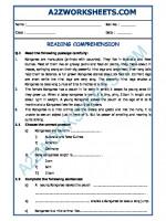 English English Comprehension - 11