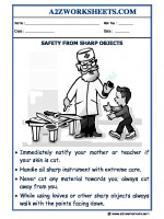 General-Awareness GA-Safety from Sharp Objects