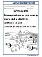 General-Awareness GA Worksheets - Safety on Road