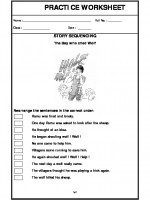 English Story Sequencing