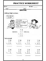 Maths Addition (Handout)