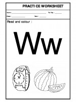 English Recognition of W