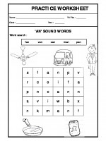 English 'an' sound words
