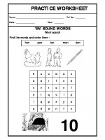 English 'en' sound words