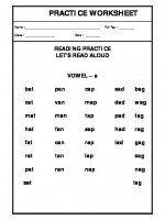 English Vowels 'A'-02