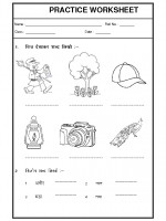 Language Hindi Worksheet - 01