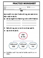 A2zworksheets Worksheets Of Language Hindi For Fifth Grade