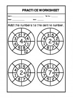Maths Class-I-Addition in Circle-12