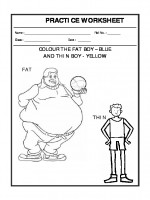 English Perception - Fat and thin